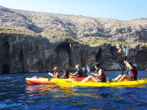 Ruta en kayak Altea